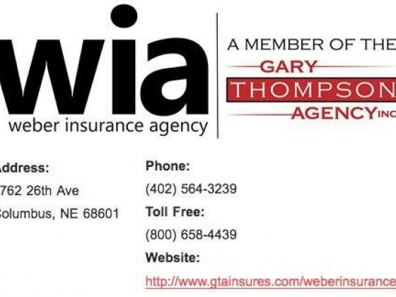 Weber Insurance Agency in Columbus, NE