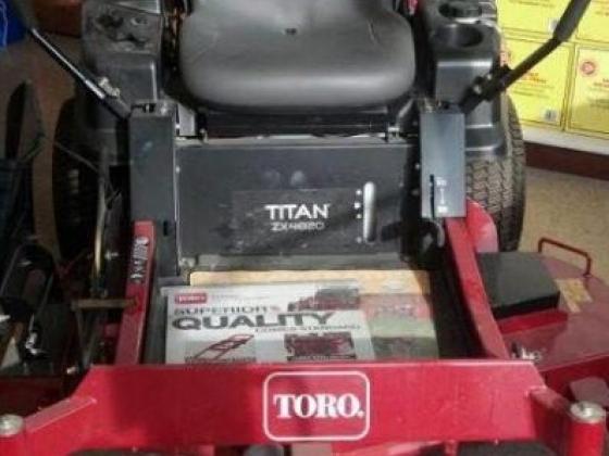 Toro brand equipment at J & S Diesel Service in Ord, NE